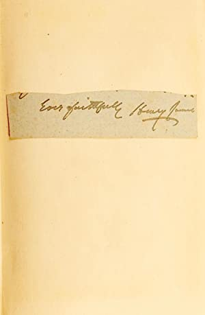 The Two Magics : The Turn of the Screw; Covering End [James's Signature mounted to FFEP]: ...