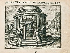 Ovidius Naso, Publius] Metamorphoses, argumentis brevioribus ex Luctantio Grammatico collectis ...