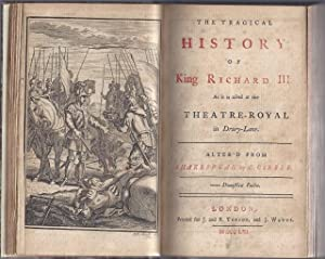 Sammelband of five plays, comprising] Xerxes. A tragedy. As it is acted at the Theatre Royal in ...