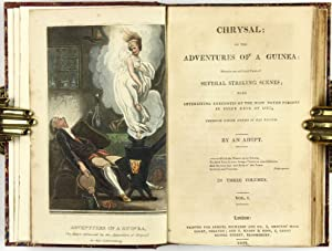 Color Plate] Chrysal, or, The adventures of a guinea: wherein are exhibited views of several ...