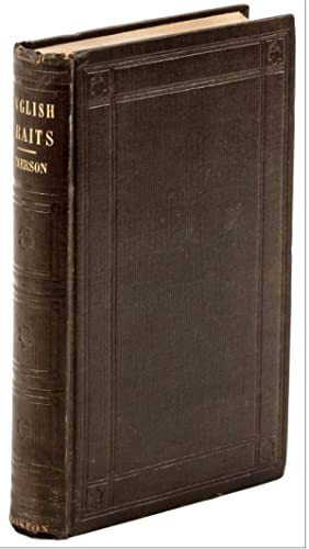 Stonehenge] English Traits: EMERSON, R[alph] W[aldo], 1803-1882