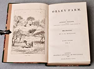 Orley Farm . . . With illustrations by J. E. Millais: TROLLOPE, Anthony (1815-1882)
