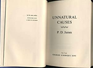 Unnatural Causes: JAMES, P[hyllis] D[orothy]