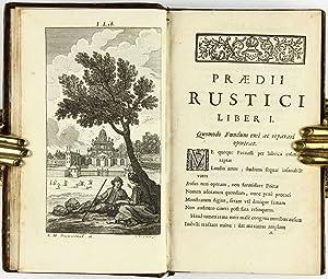 Armorial Binding] Praedium Rusticum: VANIÈRE, Jacques (1664-1739)