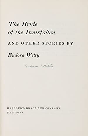 The Bride of the Innisfallen and Other Stories [Signed]; NY: Harcourt, Brace and Company, 1955: ...