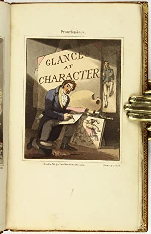 Hand-Colored] Glances at Character: Anonymous; CLARK, J. (fl. 1789-1830), engraver]
