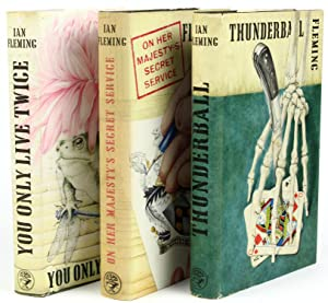 The Blofeld Trilogy, comprising] Thunderball; [with] On Her Majesty's Secret Service; [and] ...
