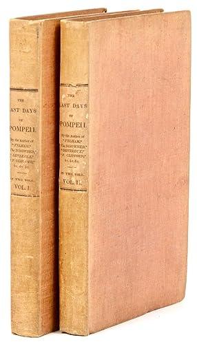 Early American Cloth] The Last Days of: BULWER-LYTTON, Edward, Baron,
