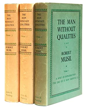 Der Mann ohne Eigenschaften] The Man without: MUSIL, Robert Edler