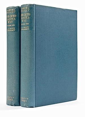 Côté de Guermantes] The Guermantes Way [À: PROUST, Marcel (1871-1822)
