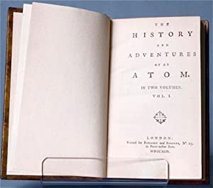 The history and adventures of an atom. In two volumes [First Issue]: SMOLLETT, Tobias George, 1721-...