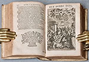 Emblem Book] 'S Werelts begin, midden, eynde, besloten in den trou-ring, met den proef-steen ...