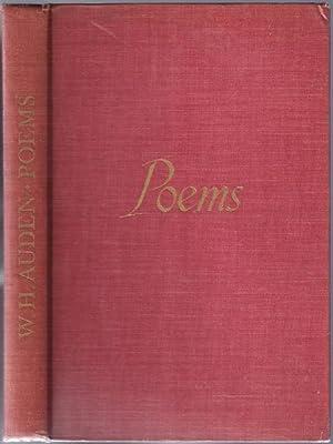 Poems: AUDEN, W[ystan]. H[ugh]. (1907-1973)