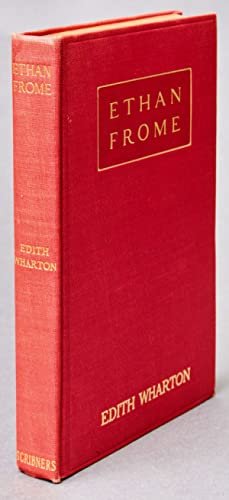 Ethan Frome: WHARTON, Edith (1862-1937)