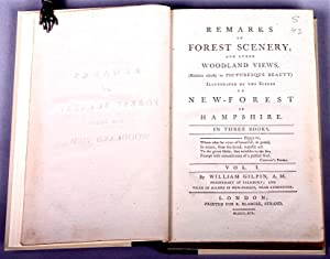 Remarks on forest scenery, and other woodland views, (relative chiefly to picturesque beauty) ...