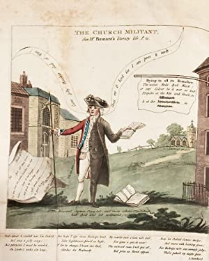 The literary life of the late Thomas Pennant, Esq. By himself [hand-colored]: PENNANT, Thomas (1726...