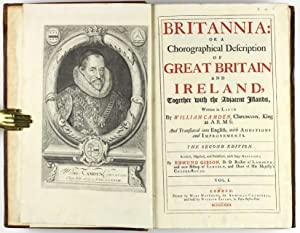 Britannia: or a chorographical description of Great Britain and Ireland, together with the adjacent...