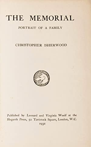 Memorial, The [First State]: ISHERWOOD, Christopher (1904-1986)