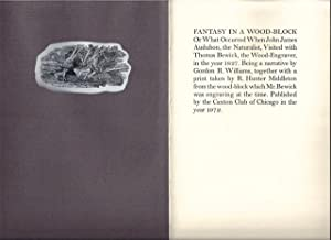 Fantasy In A Wood-Block Or What Occurred When John James Audubon, the Naturalist, Visited with ...