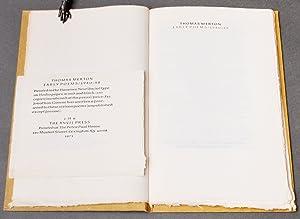 Anvil Press] Early Poems 1940-42: MERTON, Thomas (1915-1968)