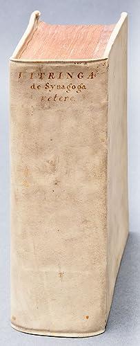 Judaica] De synagoga vetere libri tres : quibus tum de nominibus, structurâ, origine, pr&...