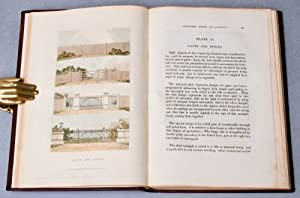 Color Plate] Hints on ornamental gardening : consisting of a series of designs for garden buildings...