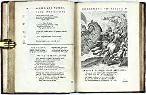 Emblem Book] Quinti Horatii Flacci Emblemata, imaginibus in aes incisis, notisque illustrata: VEEN,...