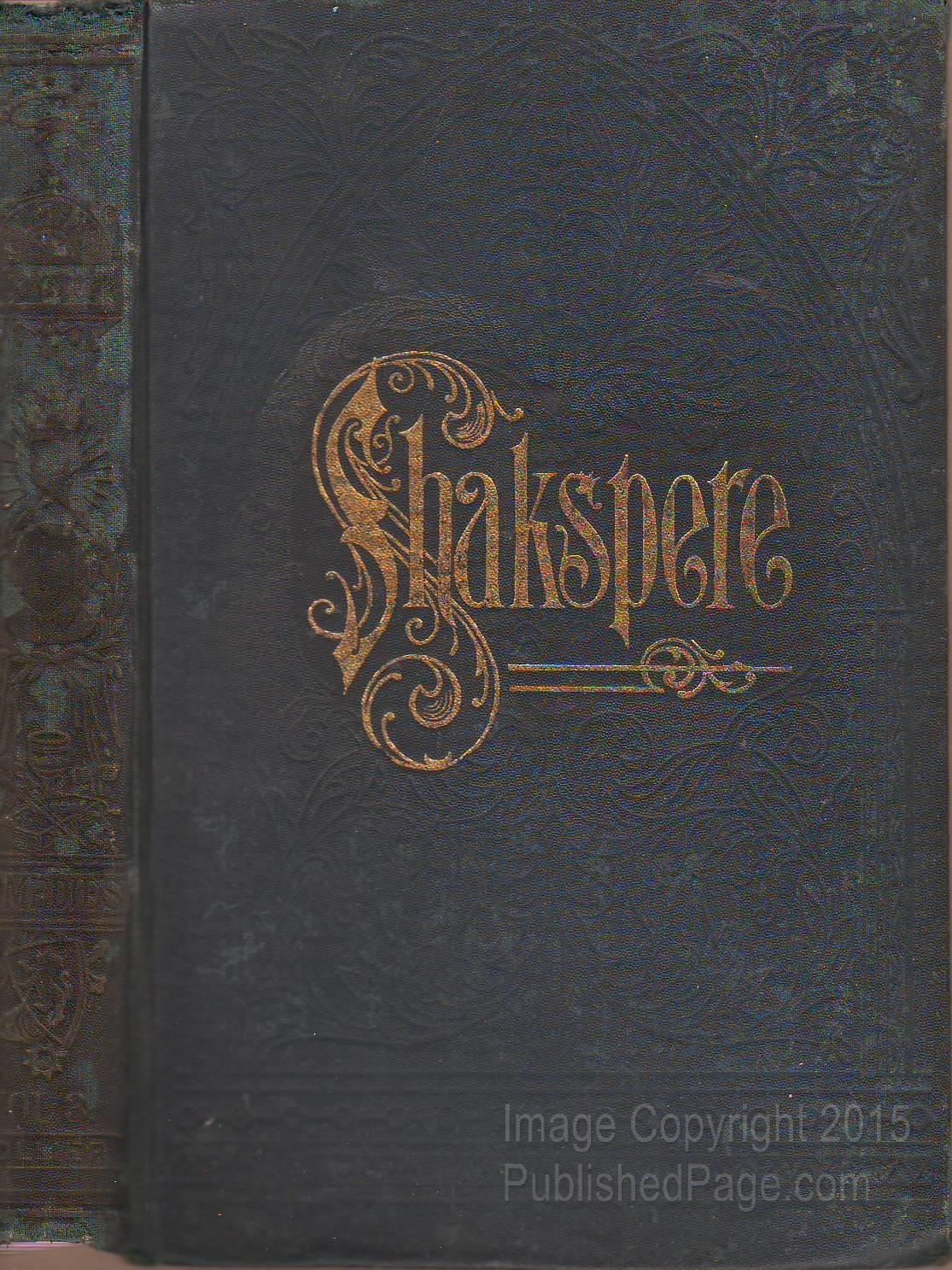 william shakespeare edited by charles knight
