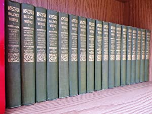 The Works of Balzac, New National Edition in 18 Volumes, Complete Set: Balzac, Honore de