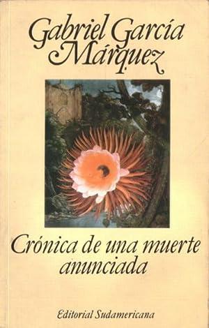Crónica de una muerte anunciada: García Márquez, Gabriel