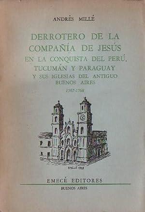 Derrotero de la Compañía de Jesús en: Millé, Andrés