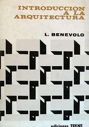 Introducción a la arquitectura: Benevolo, Leonardo