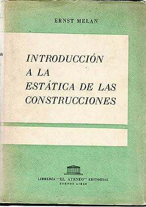 Introducción A La Estática De Las Construcciones: Melan, Ernst