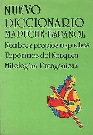 Nuevo diccionario Mapuche - Español: Wilhelm de Moesbach,