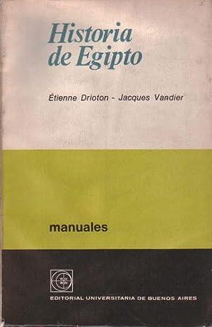 Historia de Egipto: Drioton, Étienne; Vandier, Jacques