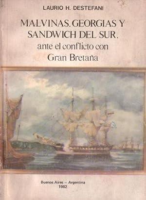 Malvinas, Georgias y Sandwich del Sur, ante: Destefani, Laurio H.