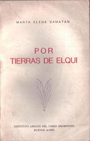 Por Tierras De Elqui: Samatán, Marta Elena