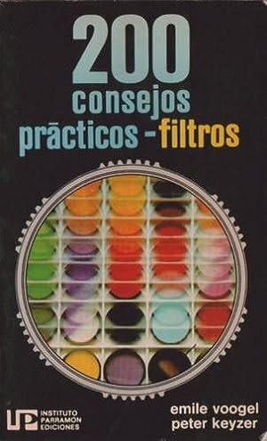 Filtros: 200 consejos prácticos: Voogel, Emile; Keyzer, Peter