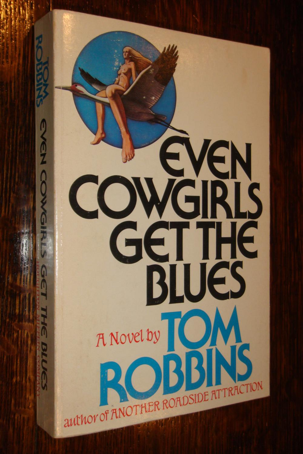 Image result for even cowgirls get the blues book cover""
