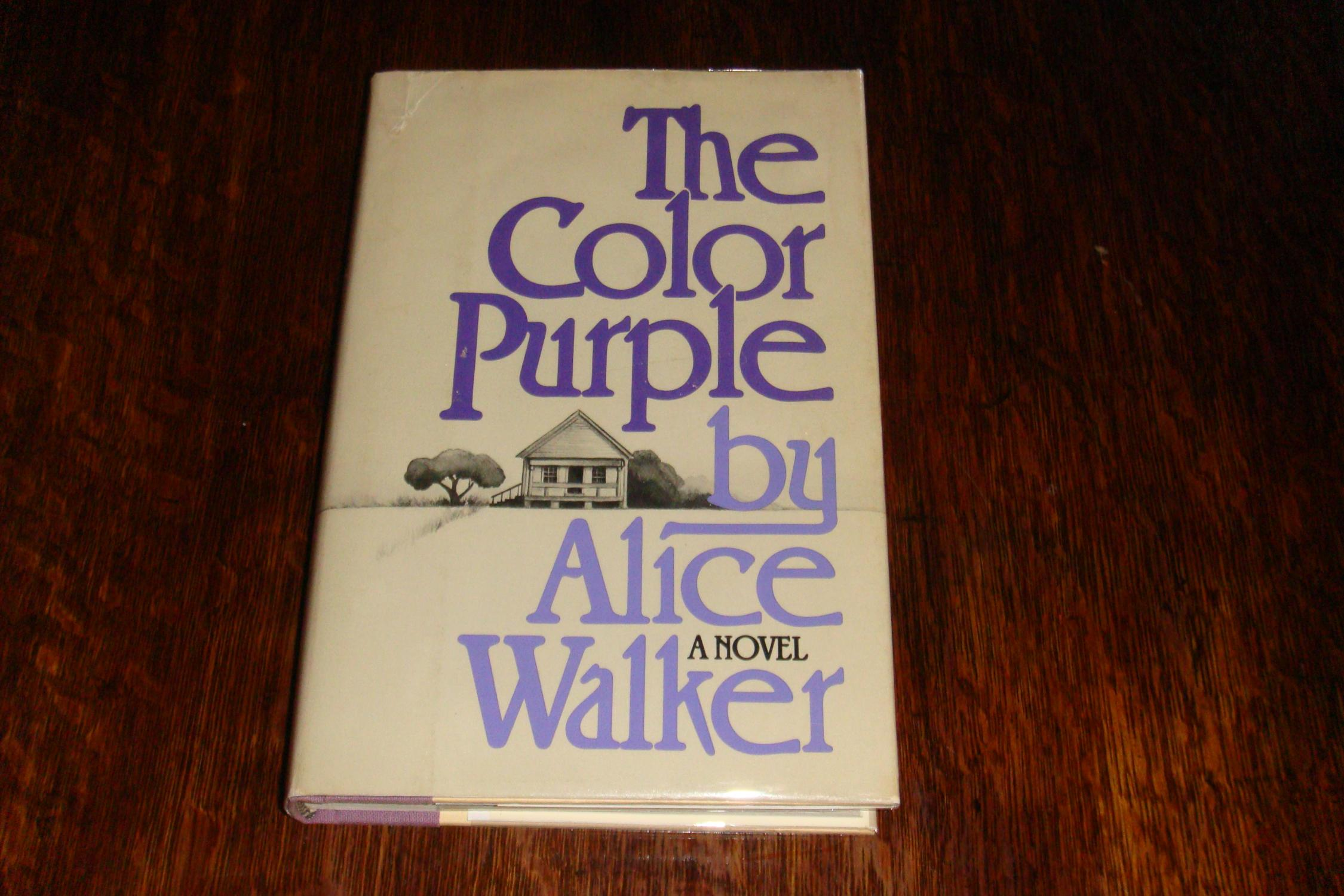 THE COLOR PURPLE (1st printing) by Walker, Alice: Harcourt Brace and ...