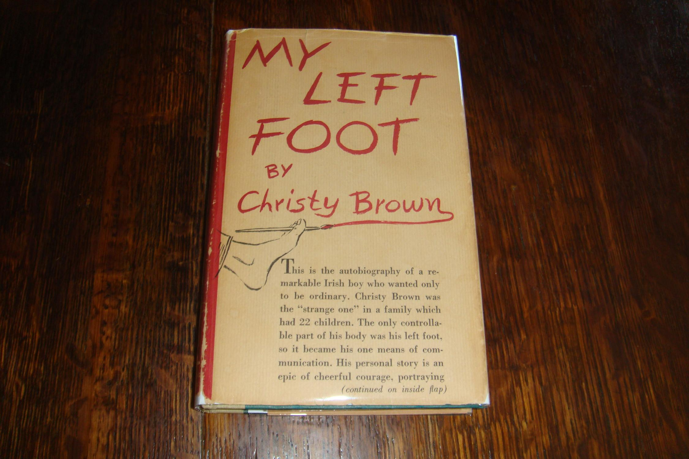 My Left Foot (1st printing) Brown, Christy