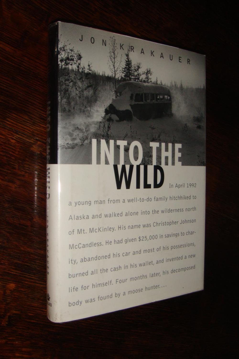 Into The Wild Book For