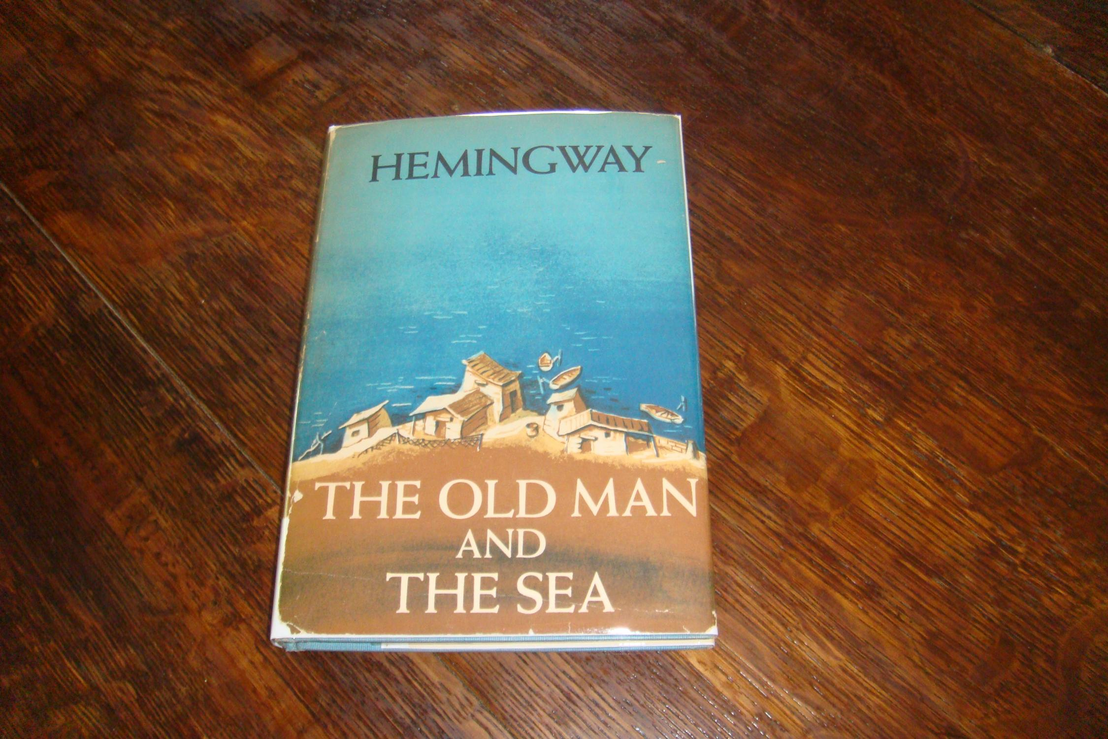 a book report on old man and the sea by ernest hemingway The old man and the sea book won the pulitzer prize for fiction to find the market value for this book, click on the pre-filled ebay, abebooks, or biblio links to the right and look for comparable listings that have all of these first edition points.