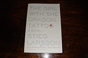 THE GIRL WITH THE DRAGON TATTOO uncorrected proof ARC