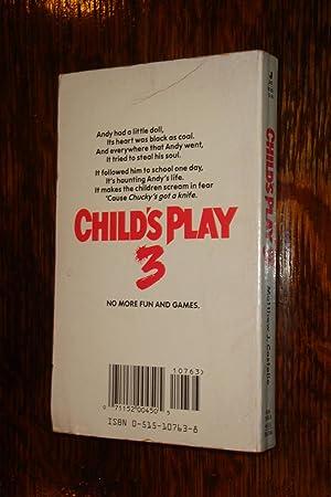 Child's Play 3 (1st printing of paperback original): Costello, Matthew J.