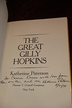 The Great Gilly Hopkins (signed 1st printing): Paterson, Katherine