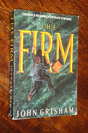 The FIRM - (signed 1st ARC - Advance Reading Copy )