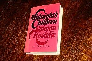 MIDNIGHT'S CHILDREN (signed 1st printing): Rushdie, Salman