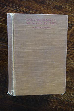 The Case Book of Sherlock Holmes (1st printing): Doyle, A. Conan