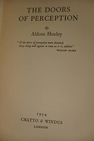 THE DOORS OF PERCEPTION (1st edition): Huxley, Aldous